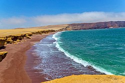 Playa Roja - Paracas National Reserve, Ica.jpg