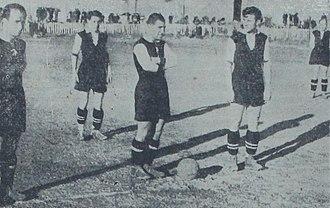 Beşiktaş J.K. - Beşiktaş players before the match against Galatasaray, 19 March 1939.