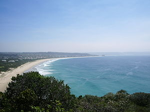 Plettenberg Bay - Plettenberg Bay viewed from Robberg Peninsula