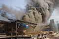 Pożar stolarni w Istebnej.jpg