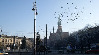 Podgorski Square,Podgorze,Krakow, Poland.jpg