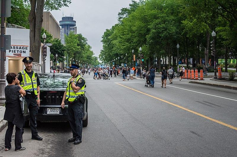 Segurança no Canadá