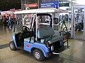 Polizia Ferroviaria cart, Rome.jpg
