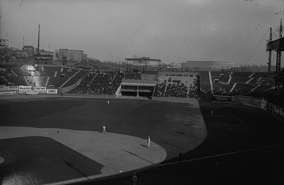 Polo Grounds outfield 1923