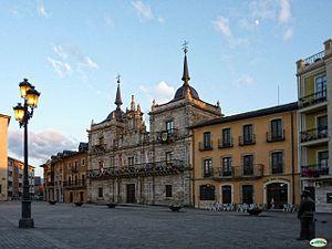 Ponferrada - Municipality square and building