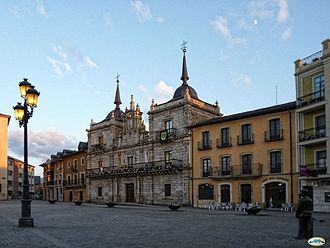 Ponferrada - Municipality square and building