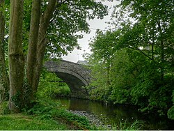 The Old Bridge at Pontrhydfendigaid