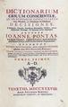 Pontas - Dictionarium casuum conscientiae, 1738 - 322.tif