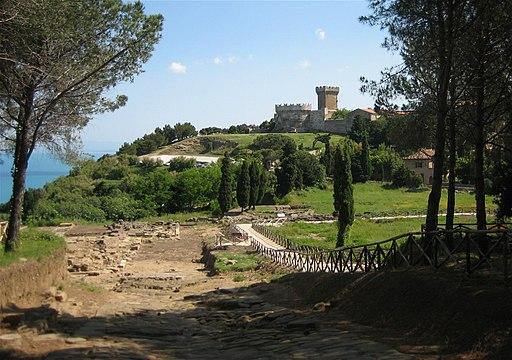 Populonia, Acropolis