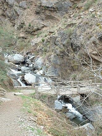 Poqueira - Bridge over the Río Poqueira