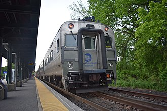 Port Jervis Line - Image: Port Jervis Train at Harriman