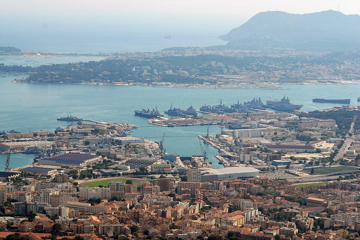 port militaire de toulon � wikip233dia