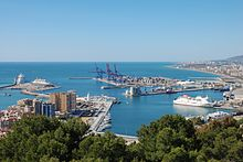 Port of Málaga, Northeast view 20090412 1.jpg