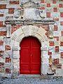 Portail de l'église de Saint Germain de Livet, Calvados.JPG