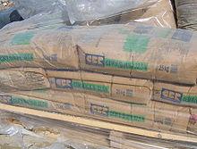 sacchi di cemento Portland