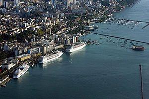 Porto de Salvador e Bahia Marina