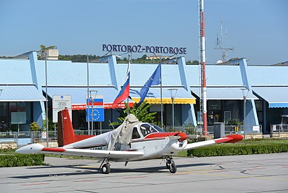 How to get to Portorož Airport with public transit - About the place