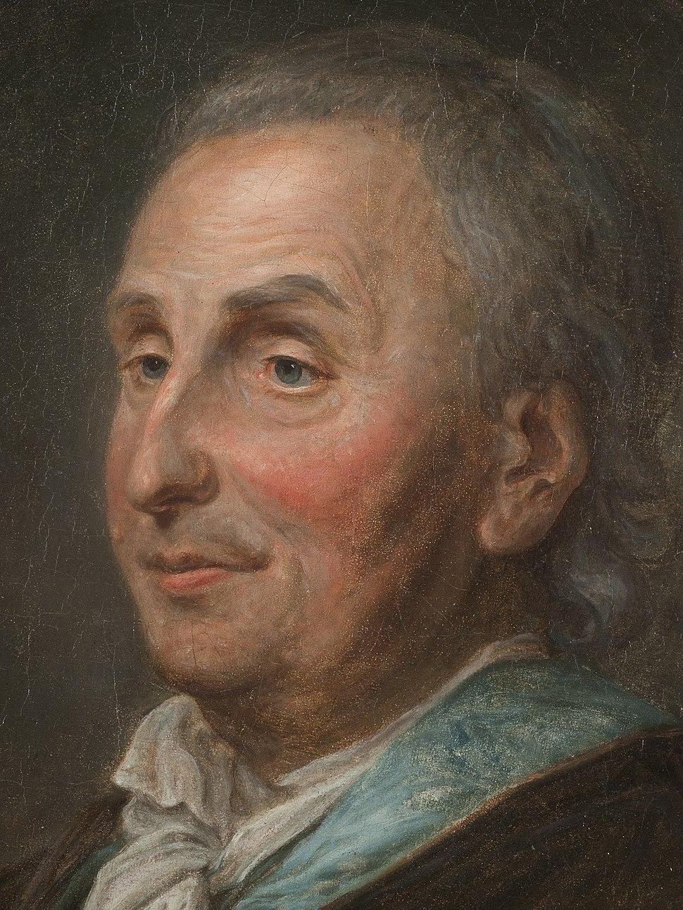 Portrait de Denis Diderot en robe de chambre