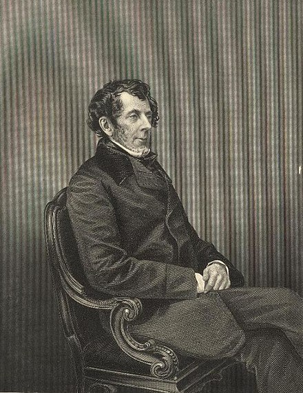 Engraving of Duncombe, c. 1858 Portrait of Thomas Slingsby Duncombe, Esq (4670625) (cropped).jpg