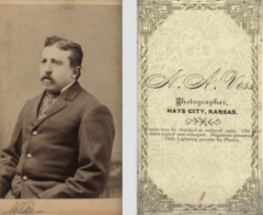Portrait of man by Voss of Hays City Kansas.png