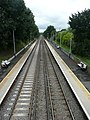 Portsmouth Direct Line towards the southwest from Liphook Railway Station, Hampshire, England 6.jpg