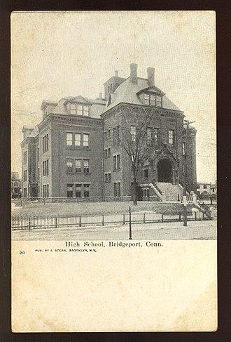 Bridgeport Public Schools - Another picture of Bridgeport High School, about 1905