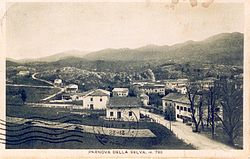 1938 postcard of Trnovo