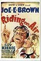 Poster of the movie Riding on Air.jpg
