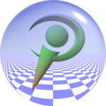 Povray logo sphere.png