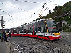 Škoda ForCity - Image: Průvod tramvají 2015, 39a tramvaj 9328