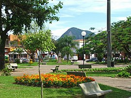 Praça central de Guaratuba