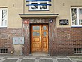 Praha, Křišťanova 18, vchod.jpg
