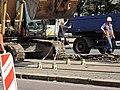 Praha, Petřiny, rekonstrukce trati, 020.jpg