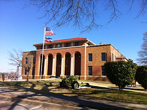 Prentiss County, Mississippi - Image: Prentiss Co MS Courthouse
