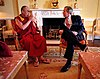 14th Dalai Lama with 43rd President of the US