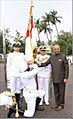 President Ram Nath Kovind awards the President's Colour to the Submarine Arm of Indian Navy (2).jpg