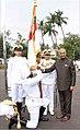 President Ram Nath Kovind awards the President's Colour to the Submarine Arm of Indian Navy (2).jpg