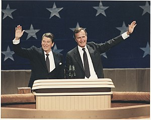 1984 Republican National Convention - Reagan and Bush at the convention