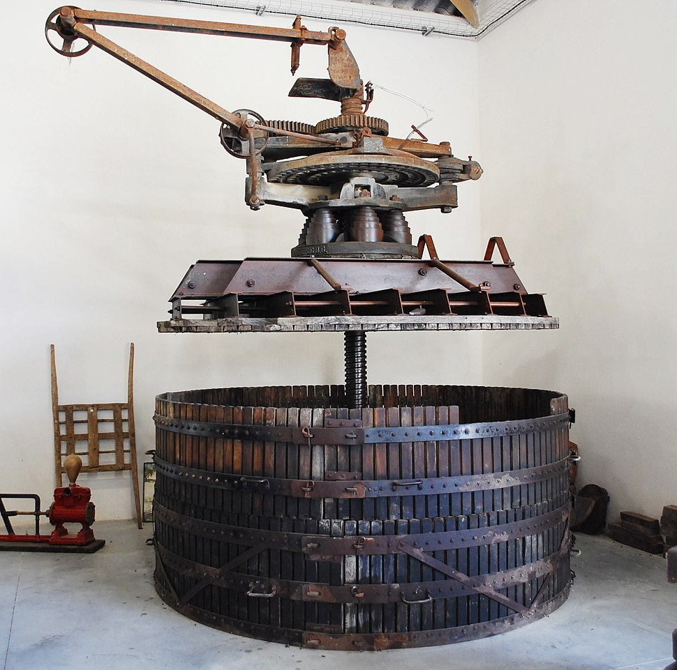 Pressoir Marmonier au Château Turcan
