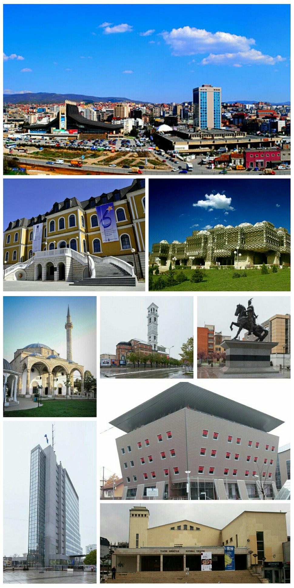 Priština collage