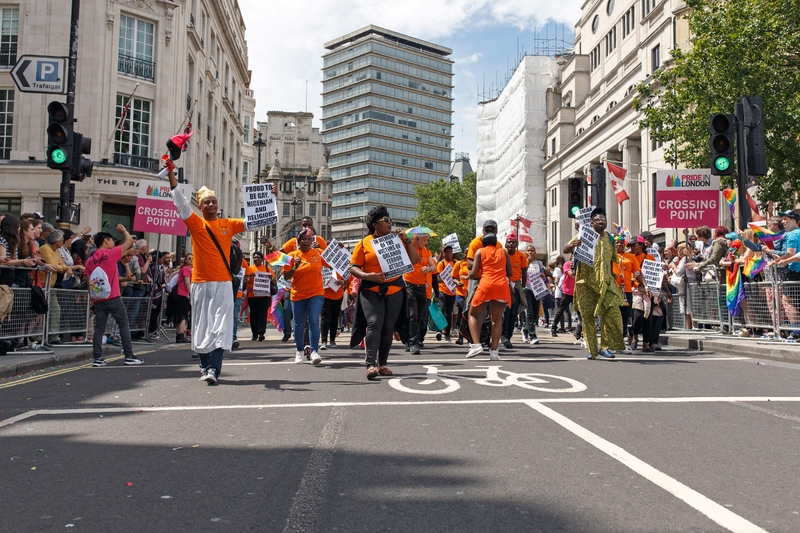 File:Pride in London 2016 - LGBT people of African origin parading in Trafalgar Square.png