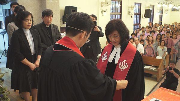 Kvinnlig präst i Taiwan