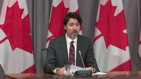 Bestand:Prime Minister Justin Trudeau's remarks announcing a ban on assault-style firearms in Canada.webm
