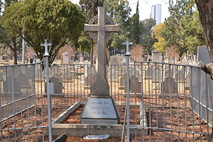 Prince Christian Victor of Schleswig-Holstein - Grave of Prince Christian Victor in Pretoria