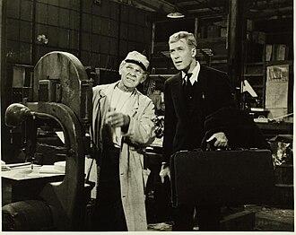 Leland Hayward - Leland Hayward (left) with Jimmy Stewart in 1955