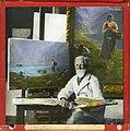 Prof. Hans Dahl i atelie (9471831020).jpg