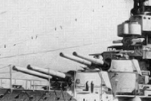340mm/45 Modèle 1912 gun - Image: Provence main guns