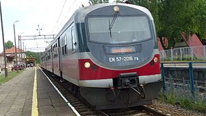 PKP class EN57 - EN57 modernizated from SPOT programme