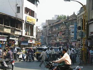 Laxmi Road in Central Pune