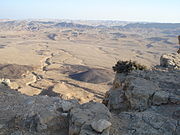 Pustynia Negew krater krasowy Ramon - Makhtesh Ramon024